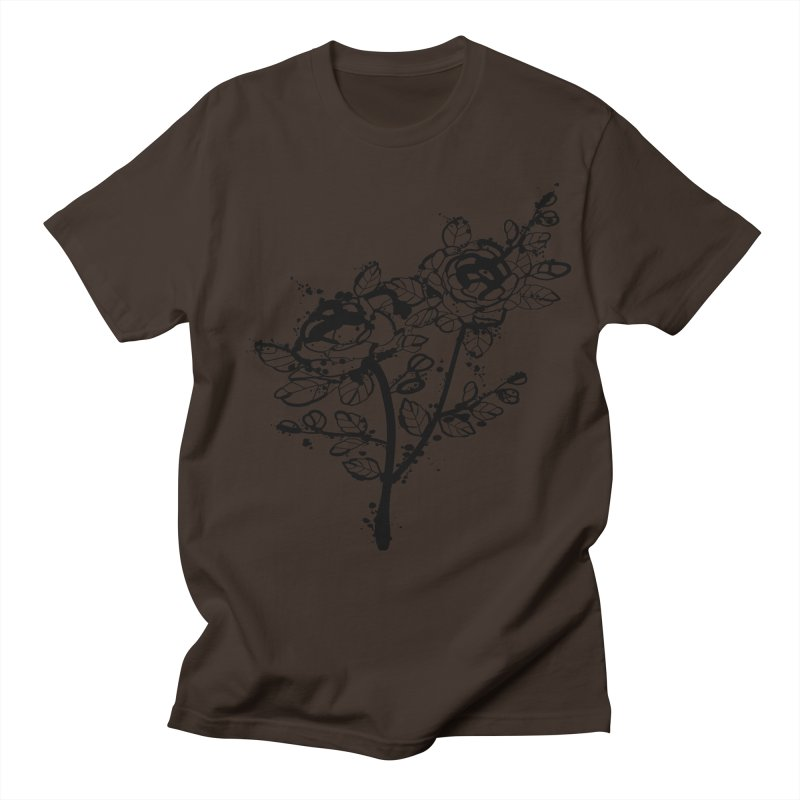 The roses Men's Regular T-Shirt by cindyshim's Artist Shop