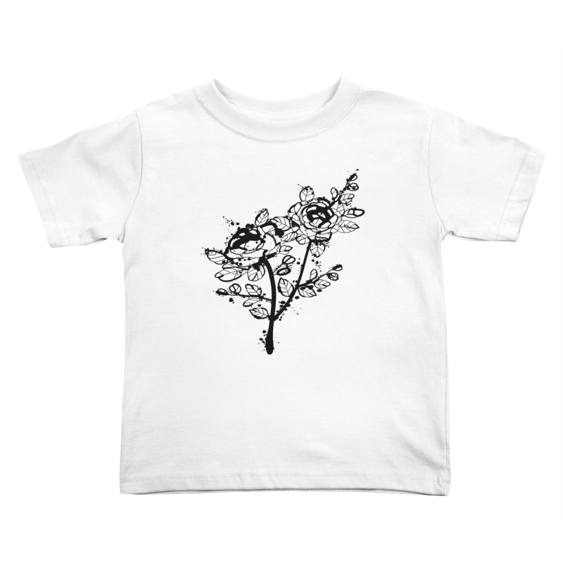 The roses Kids Toddler T-Shirt by cindyshim's Artist Shop