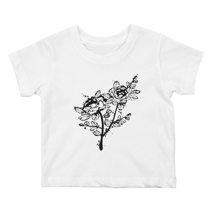 The roses Kids Baby T-Shirt by cindyshim's Artist Shop