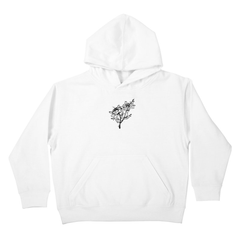 The roses Kids Pullover Hoody by cindyshim's Artist Shop