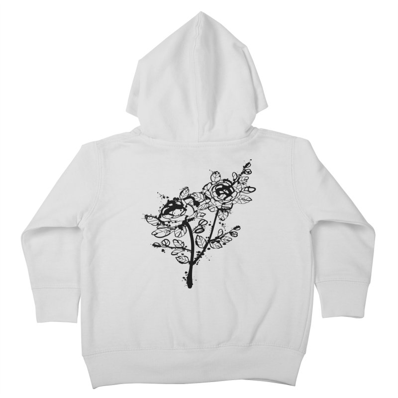 The roses Kids Toddler Zip-Up Hoody by cindyshim's Artist Shop