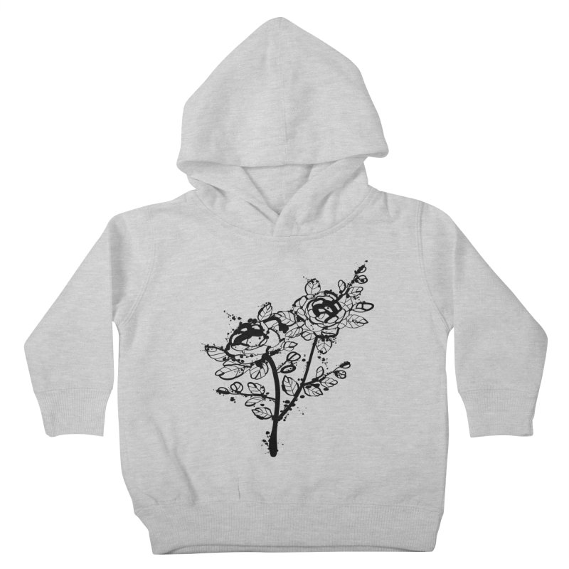 The roses Kids Toddler Pullover Hoody by cindyshim's Artist Shop
