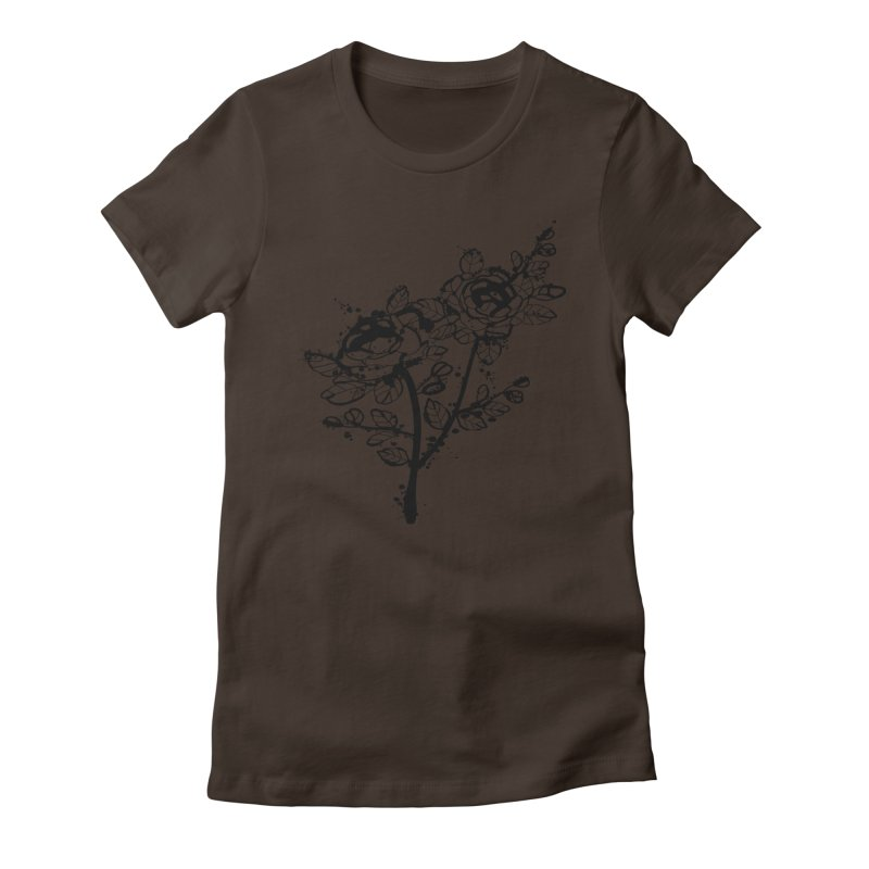 The roses Women's Fitted T-Shirt by cindyshim's Artist Shop