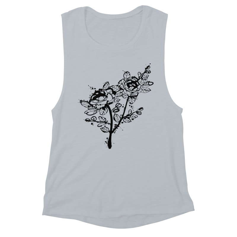 The roses Women's Muscle Tank by cindyshim's Artist Shop