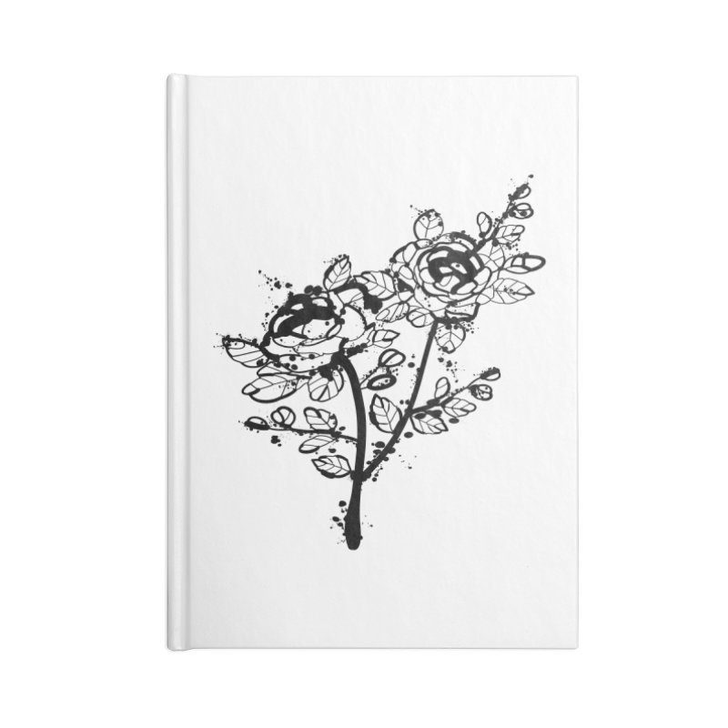 The roses Accessories Lined Journal Notebook by cindyshim's Artist Shop