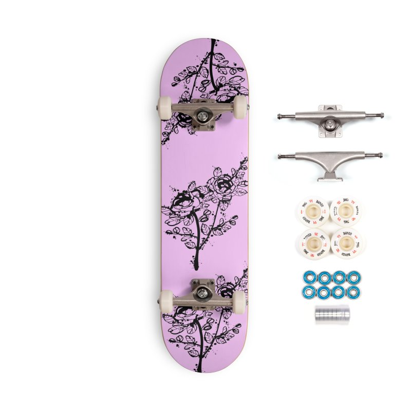 The roses Accessories Complete - Premium Skateboard by cindyshim's Artist Shop
