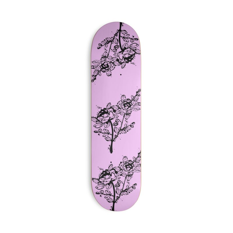 The roses Accessories Deck Only Skateboard by cindyshim's Artist Shop
