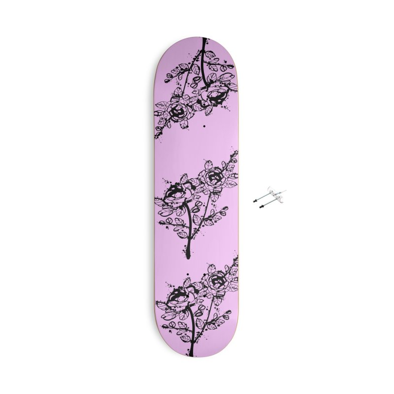 The roses Accessories With Hanging Hardware Skateboard by cindyshim's Artist Shop