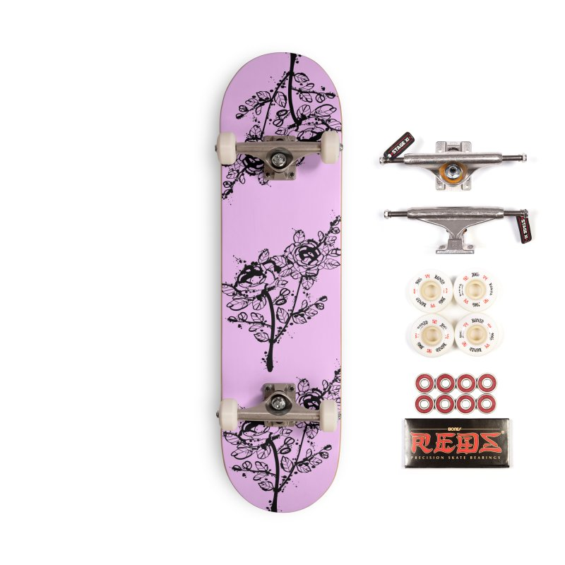 The roses Accessories Complete - Pro Skateboard by cindyshim's Artist Shop