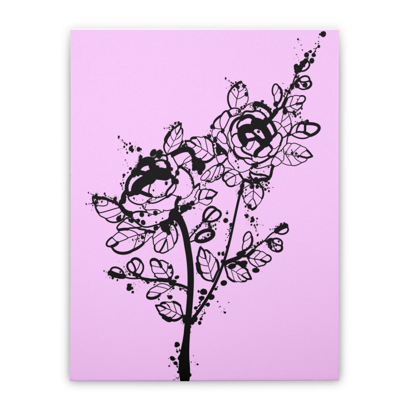 The roses Home Stretched Canvas by cindyshim's Artist Shop