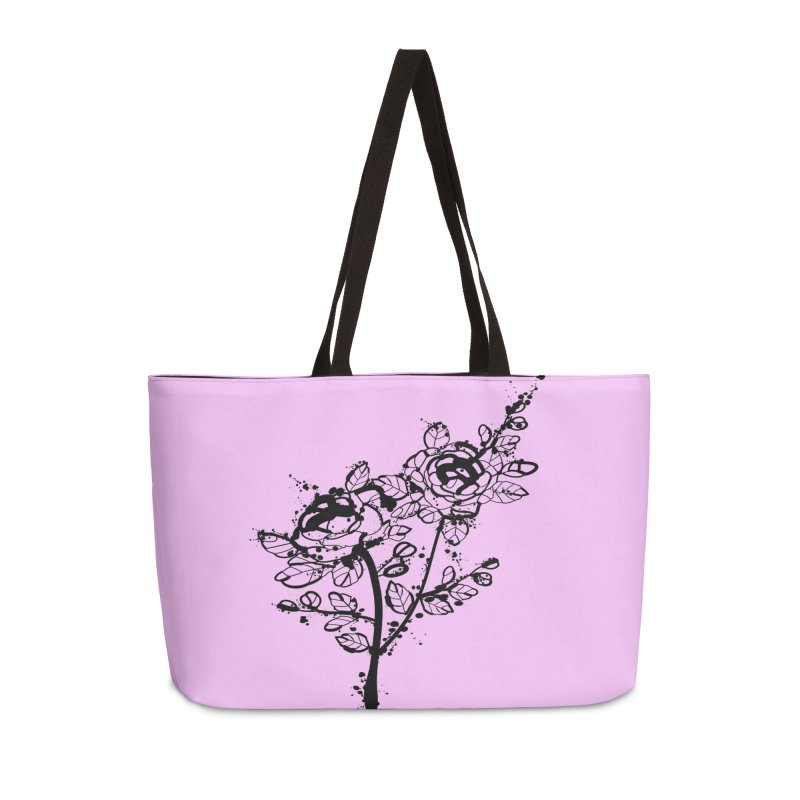 The roses Accessories Weekender Bag Bag by cindyshim's Artist Shop