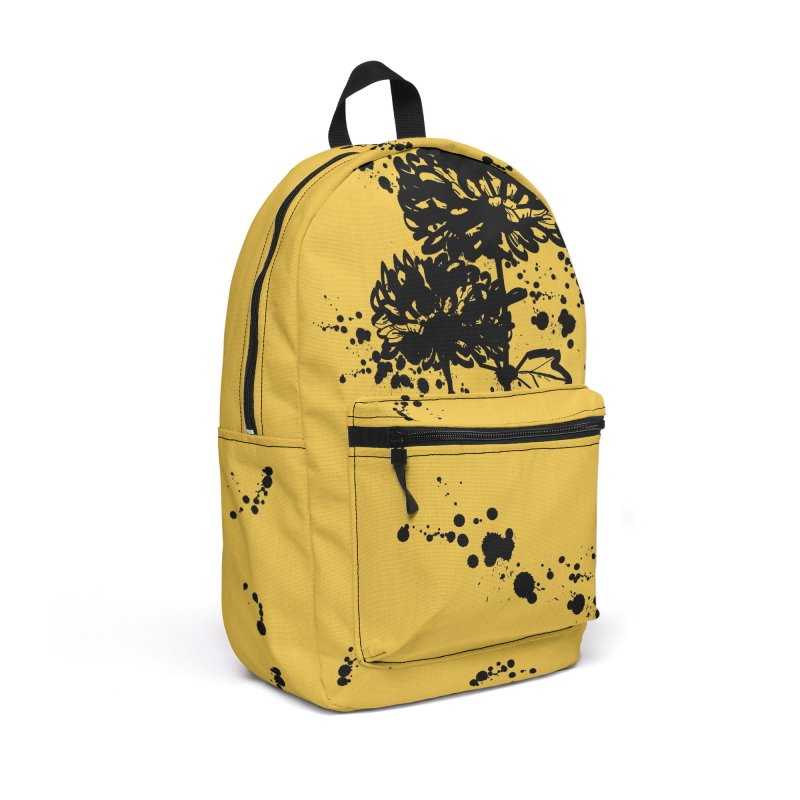 Chrysanthemum Accessories Backpack Bag by cindyshim's Artist Shop
