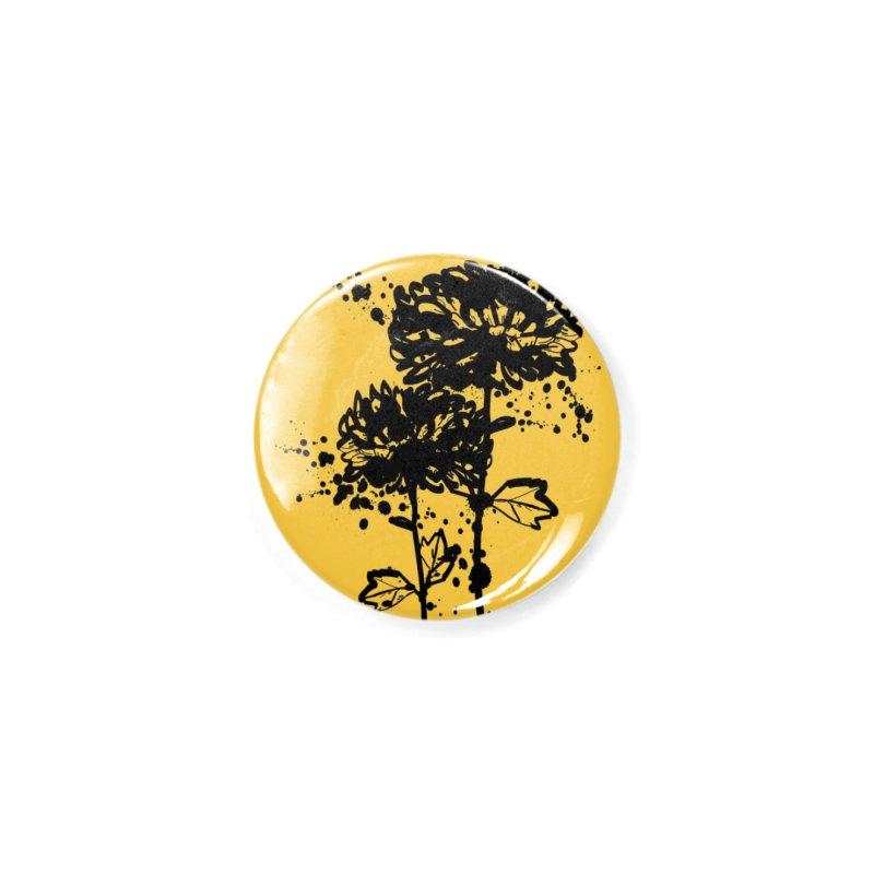 Chrysanthemum Accessories Button by cindyshim's Artist Shop