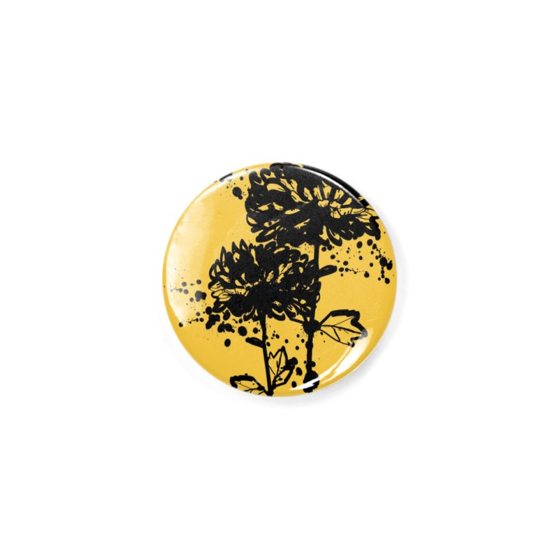 Chrysanthemum Accessories Button by cindyshim's Artist Shop