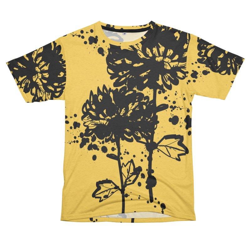Chrysanthemum Men's Cut & Sew by cindyshim's Artist Shop