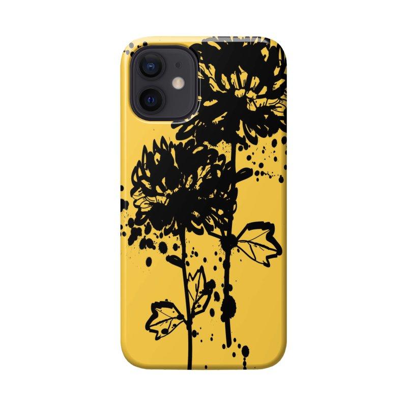 Chrysanthemum Accessories Phone Case by cindyshim's Artist Shop