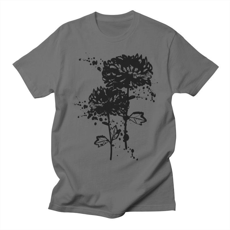 Chrysanthemum Men's T-Shirt by cindyshim's Artist Shop