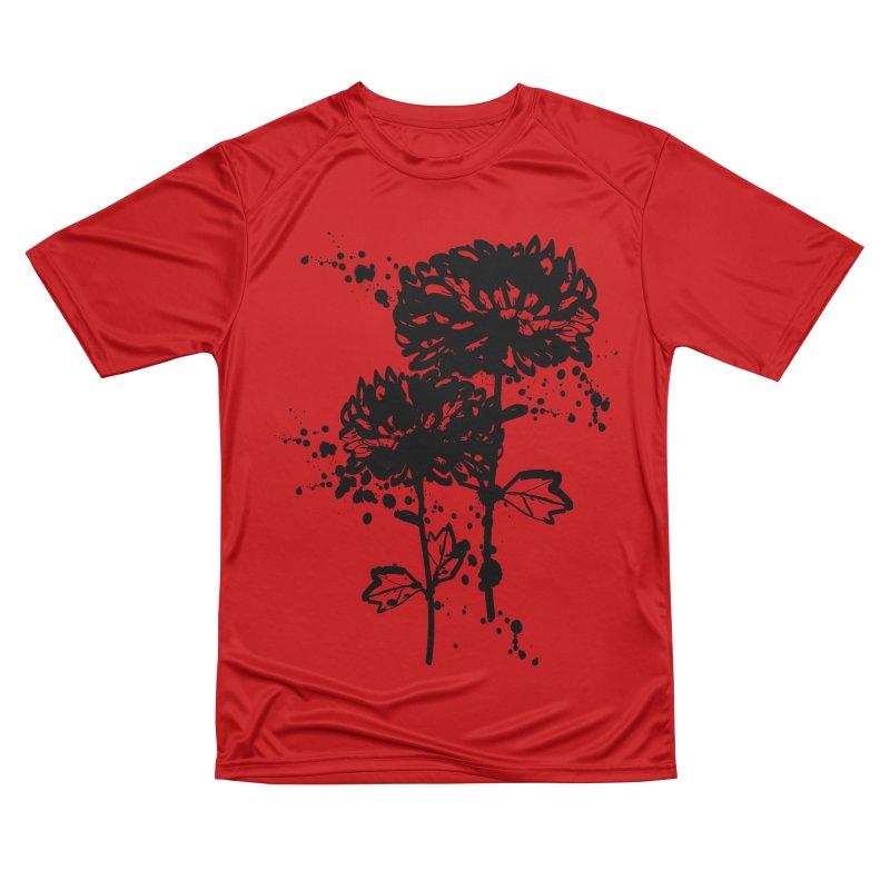 Chrysanthemum Women's Performance Unisex T-Shirt by cindyshim's Artist Shop