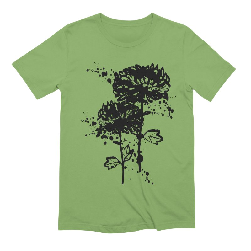 Chrysanthemum Men's Extra Soft T-Shirt by cindyshim's Artist Shop