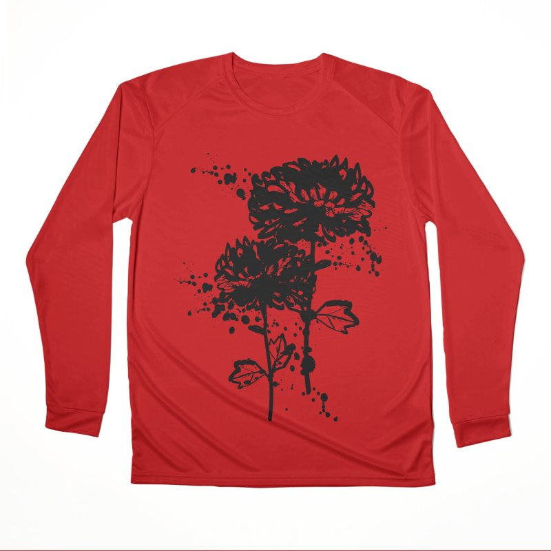 Chrysanthemum Men's Performance Longsleeve T-Shirt by cindyshim's Artist Shop