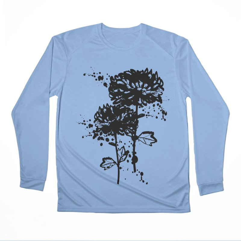 Chrysanthemum Women's Performance Unisex Longsleeve T-Shirt by cindyshim's Artist Shop