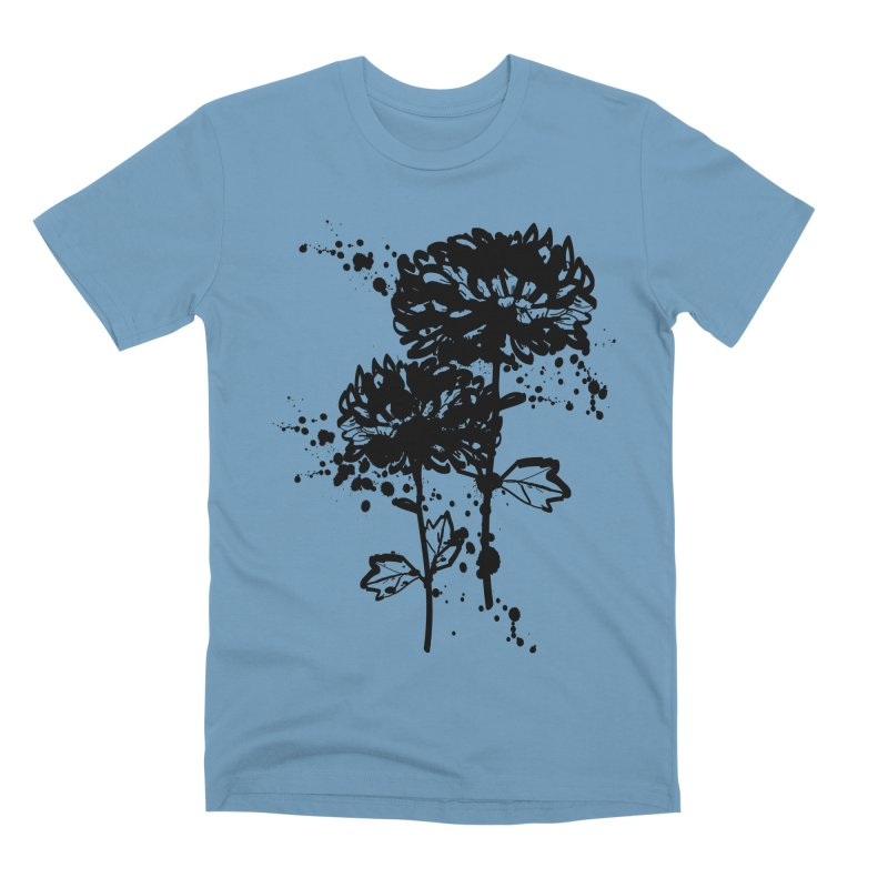 Chrysanthemum Men's Premium T-Shirt by cindyshim's Artist Shop