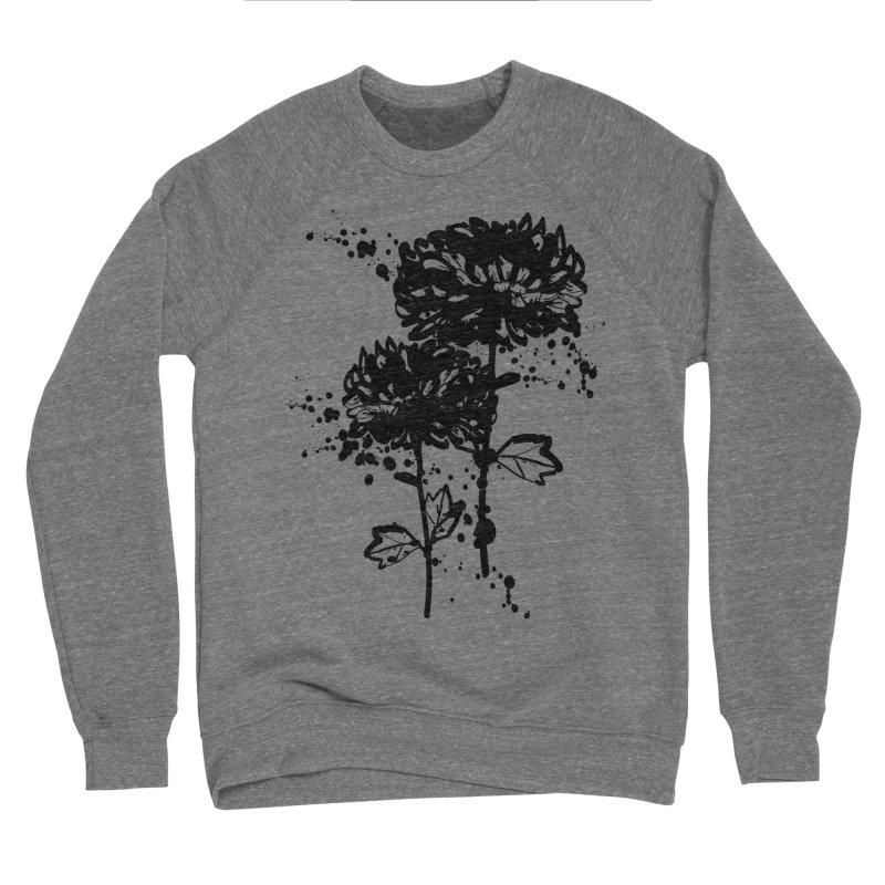 Chrysanthemum Men's Sponge Fleece Sweatshirt by cindyshim's Artist Shop