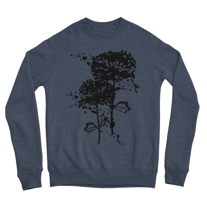 Chrysanthemum Women's Sponge Fleece Sweatshirt by cindyshim's Artist Shop