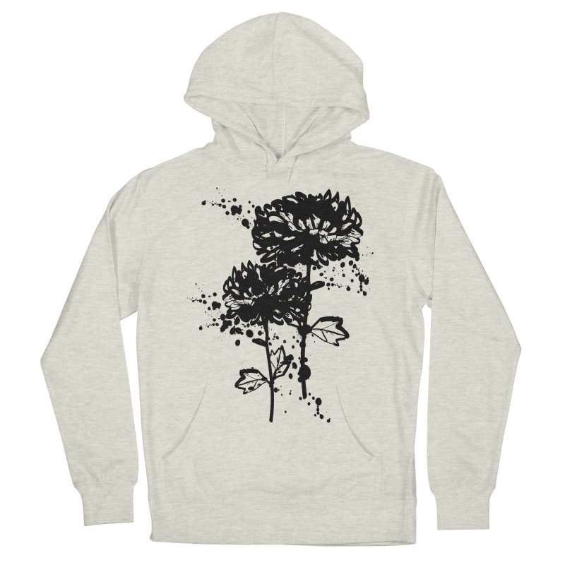 Chrysanthemum Men's French Terry Pullover Hoody by cindyshim's Artist Shop