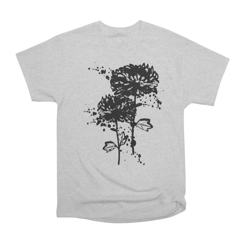 Chrysanthemum Men's Heavyweight T-Shirt by cindyshim's Artist Shop