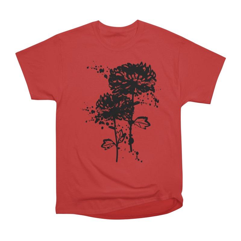 Chrysanthemum Women's Heavyweight Unisex T-Shirt by cindyshim's Artist Shop