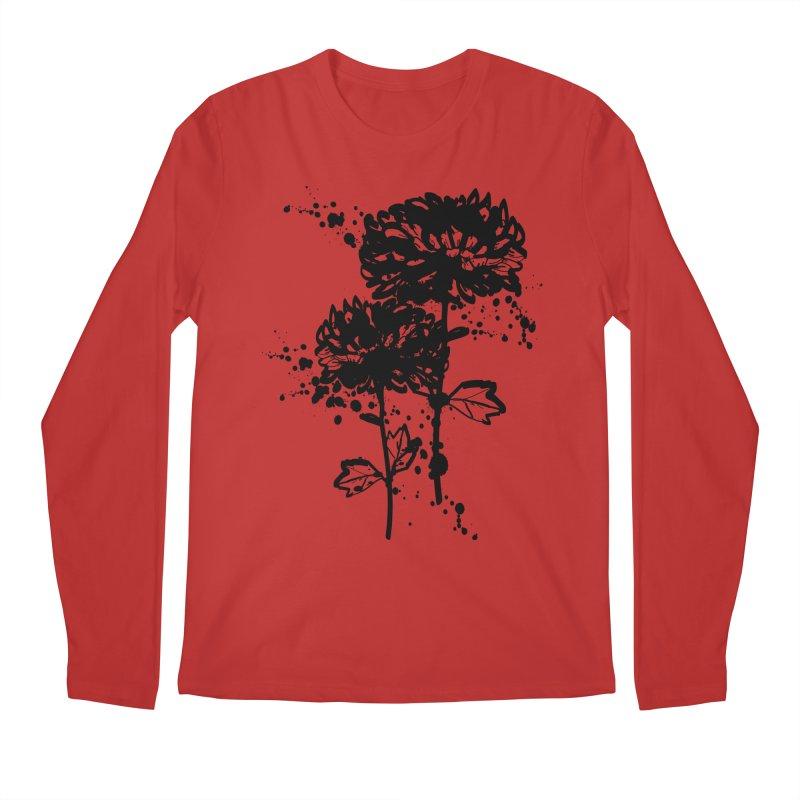 Chrysanthemum Men's Regular Longsleeve T-Shirt by cindyshim's Artist Shop