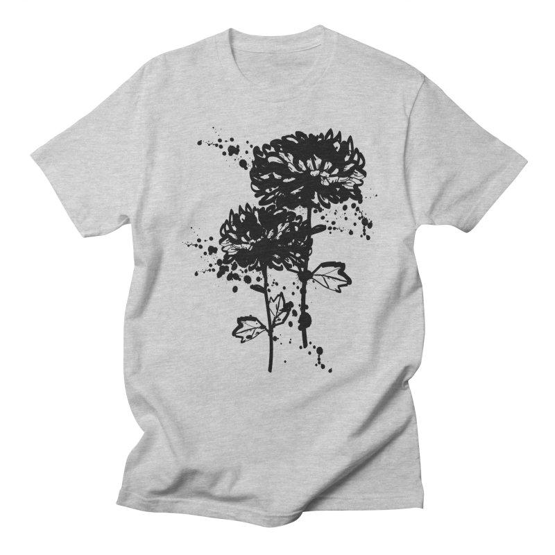 Chrysanthemum Women's Regular Unisex T-Shirt by cindyshim's Artist Shop