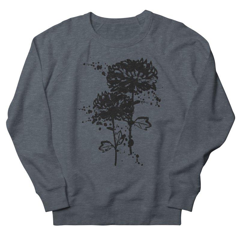 Chrysanthemum Women's French Terry Sweatshirt by cindyshim's Artist Shop