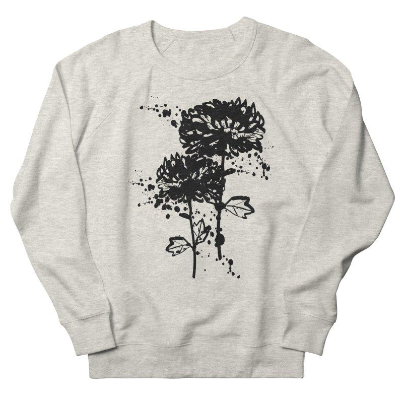 Chrysanthemum Men's French Terry Sweatshirt by cindyshim's Artist Shop
