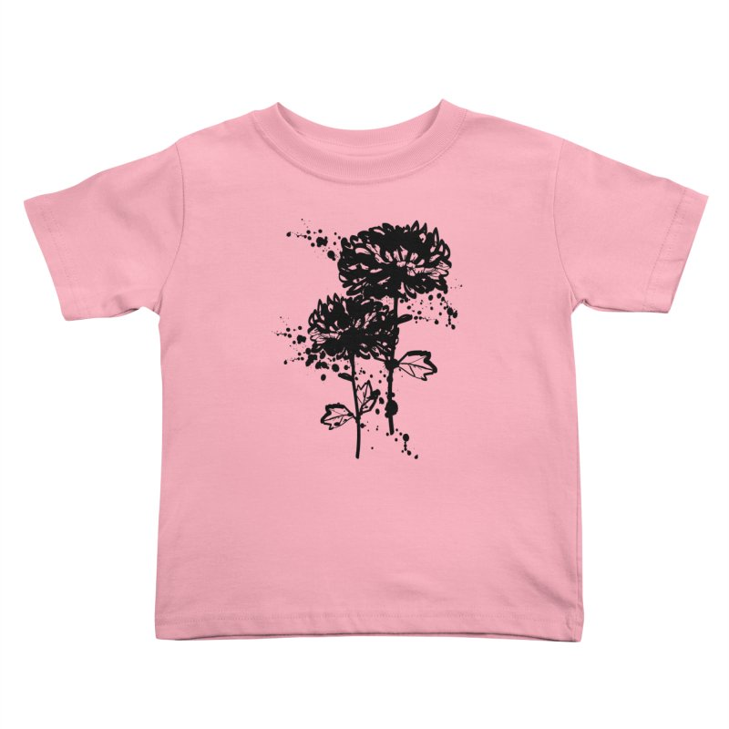 Chrysanthemum Kids Toddler T-Shirt by cindyshim's Artist Shop