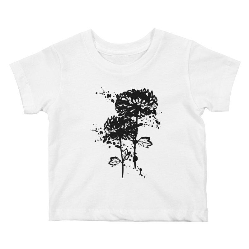 Chrysanthemum Kids Baby T-Shirt by cindyshim's Artist Shop