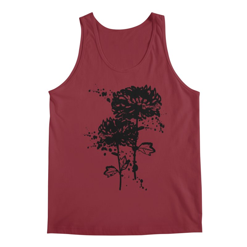 Chrysanthemum Men's Regular Tank by cindyshim's Artist Shop