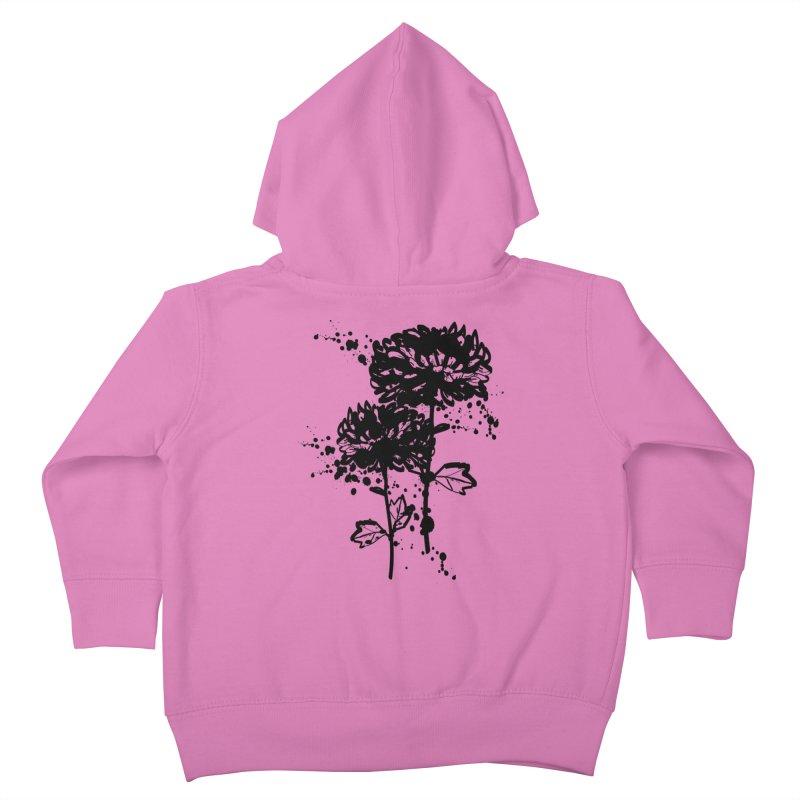 Chrysanthemum Kids Toddler Zip-Up Hoody by cindyshim's Artist Shop