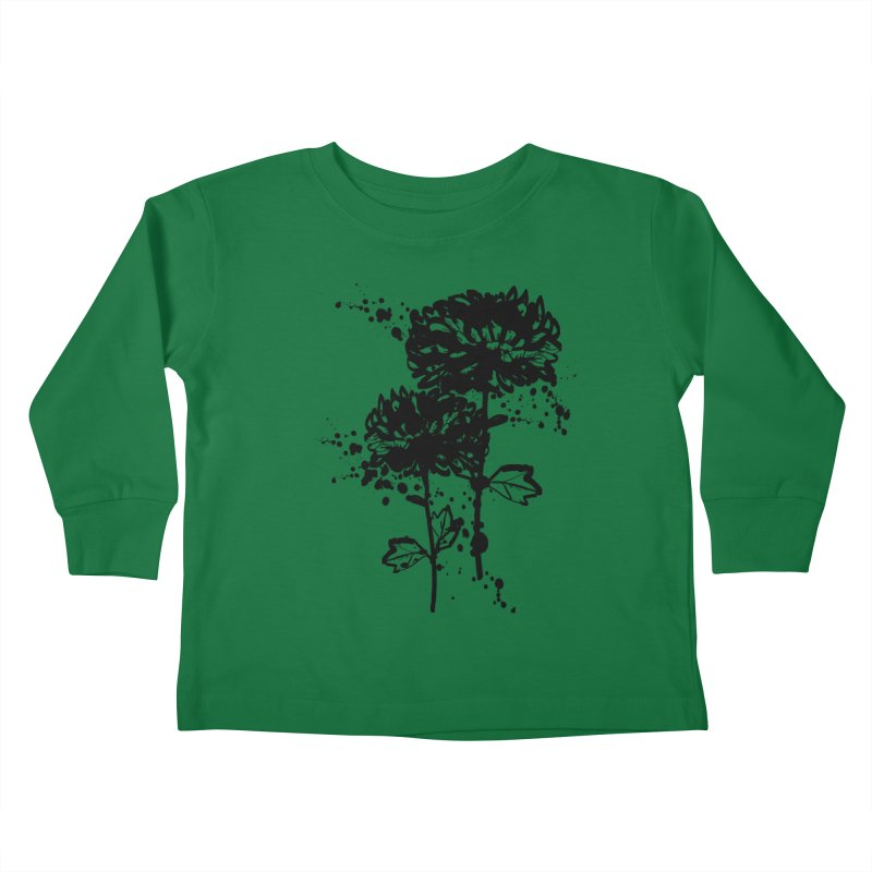 Chrysanthemum Kids Toddler Longsleeve T-Shirt by cindyshim's Artist Shop
