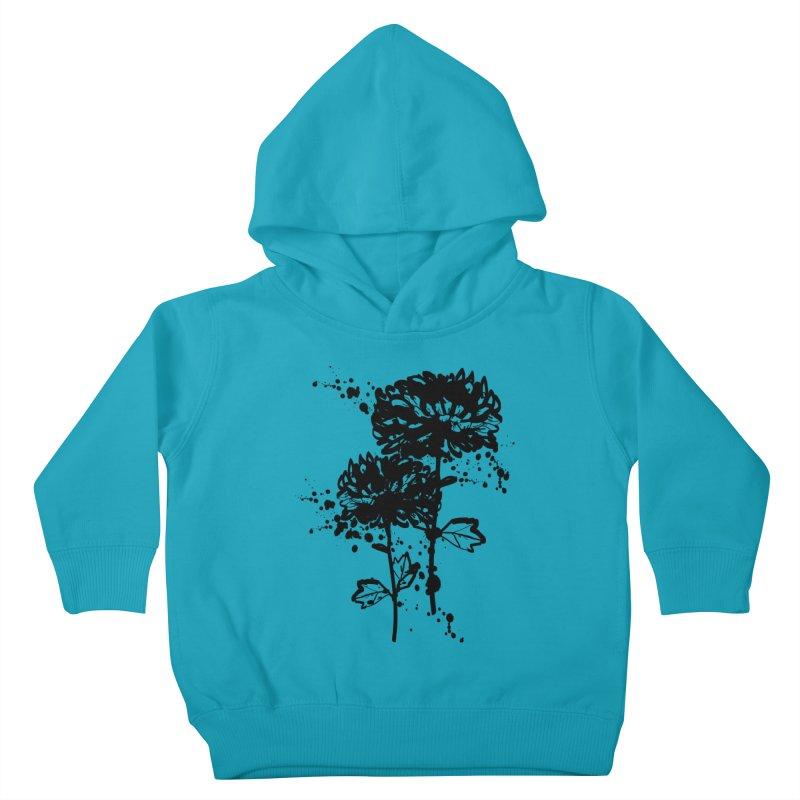 Chrysanthemum Kids Toddler Pullover Hoody by cindyshim's Artist Shop