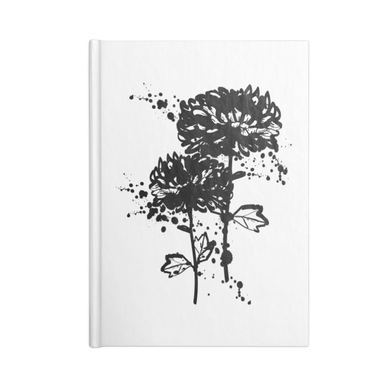 Chrysanthemum Accessories Blank Journal Notebook by cindyshim's Artist Shop