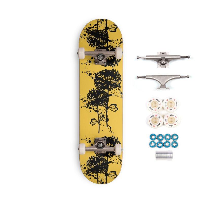 Chrysanthemum Accessories Complete - Premium Skateboard by cindyshim's Artist Shop