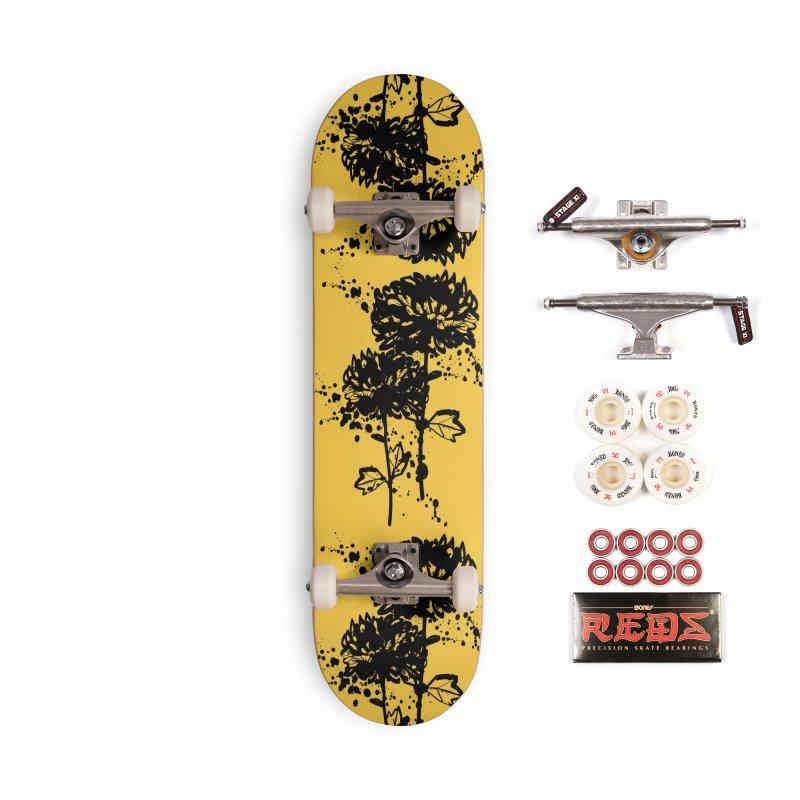 Chrysanthemum Accessories Complete - Pro Skateboard by cindyshim's Artist Shop