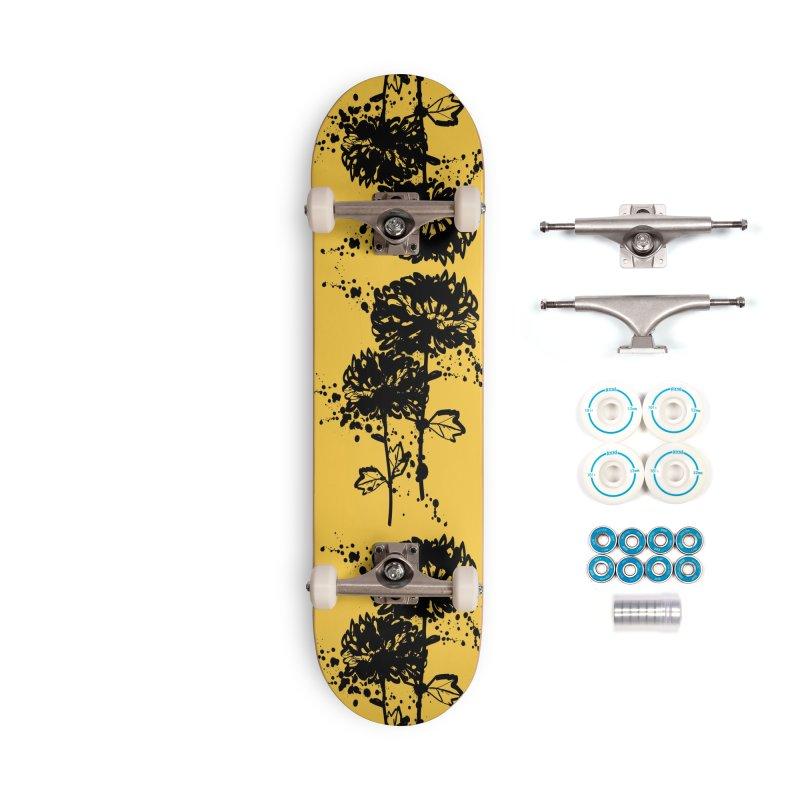 Chrysanthemum Accessories Complete - Basic Skateboard by cindyshim's Artist Shop