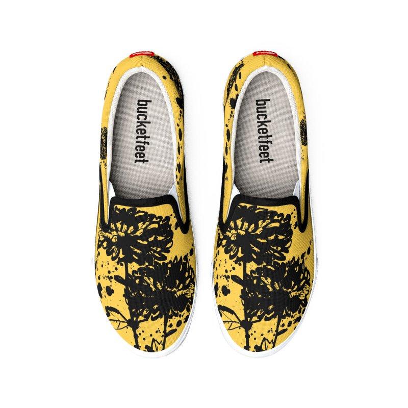 Chrysanthemum Women's Shoes by cindyshim's Artist Shop