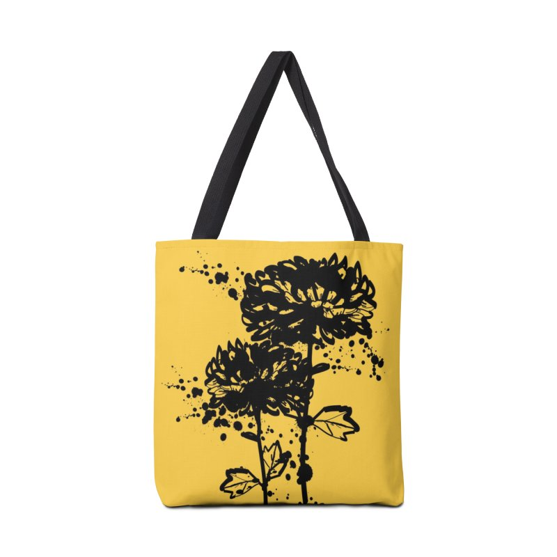 Chrysanthemum Accessories Tote Bag Bag by cindyshim's Artist Shop