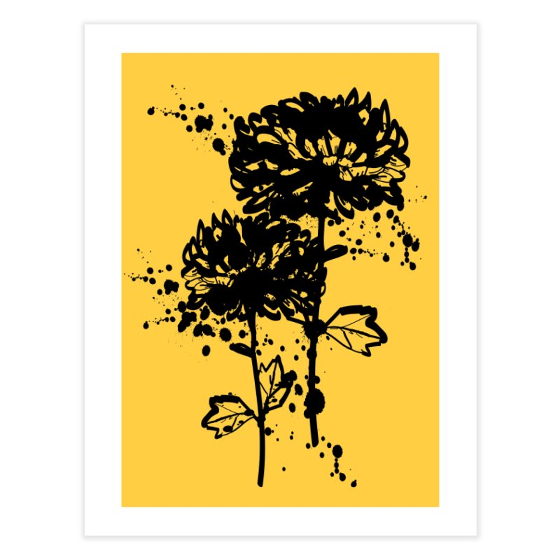 Chrysanthemum Home Fine Art Print by cindyshim's Artist Shop