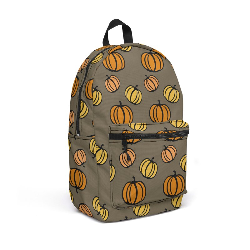Pumpkins Accessories Backpack Bag by cindyshim's Artist Shop