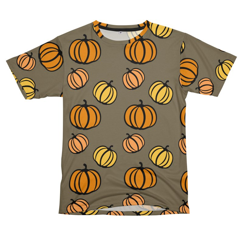 Pumpkins Women's Unisex T-Shirt Cut & Sew by cindyshim's Artist Shop